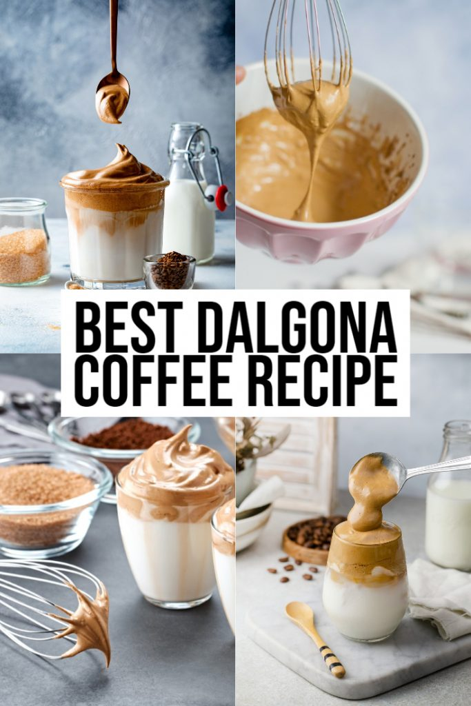 how to make dalgona coffee
