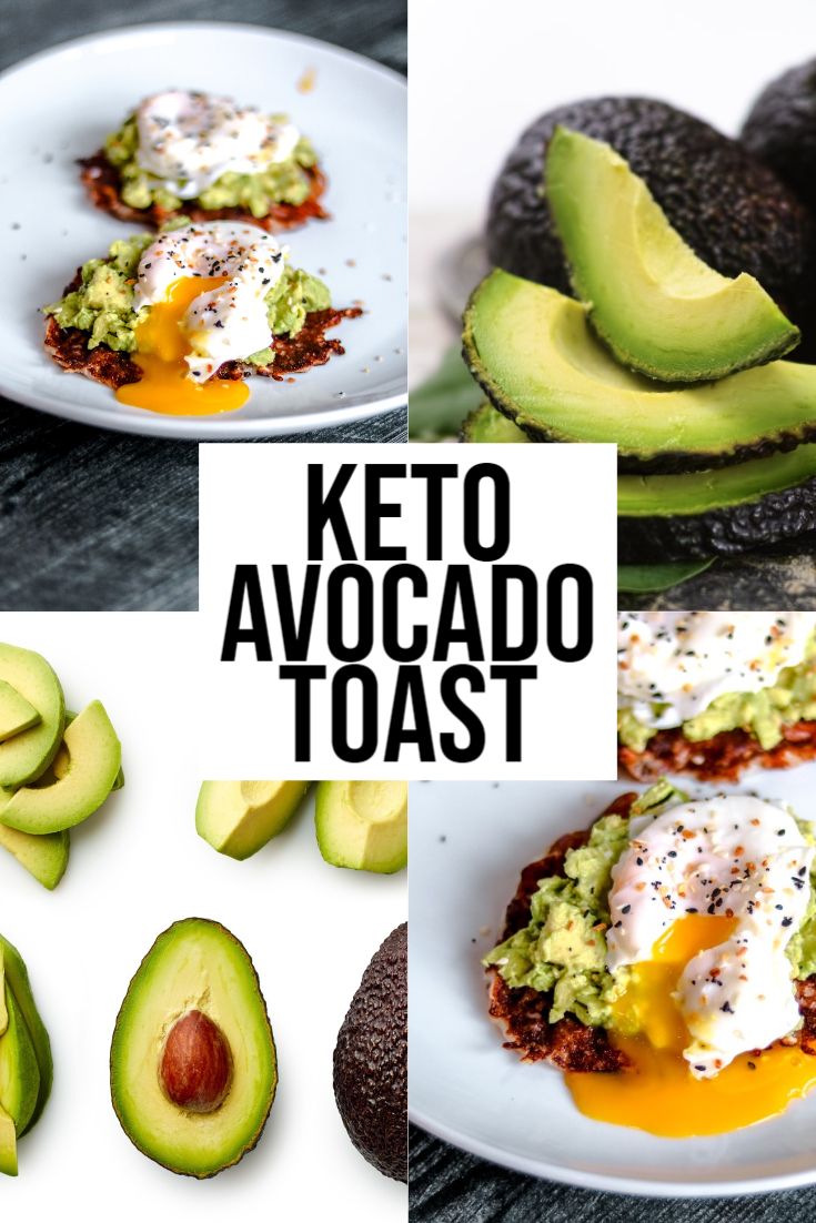 keto avocado toast